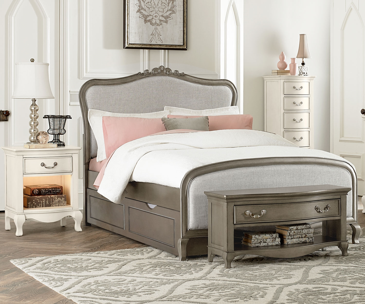 Image of: Perfect Full Bed with Trundle