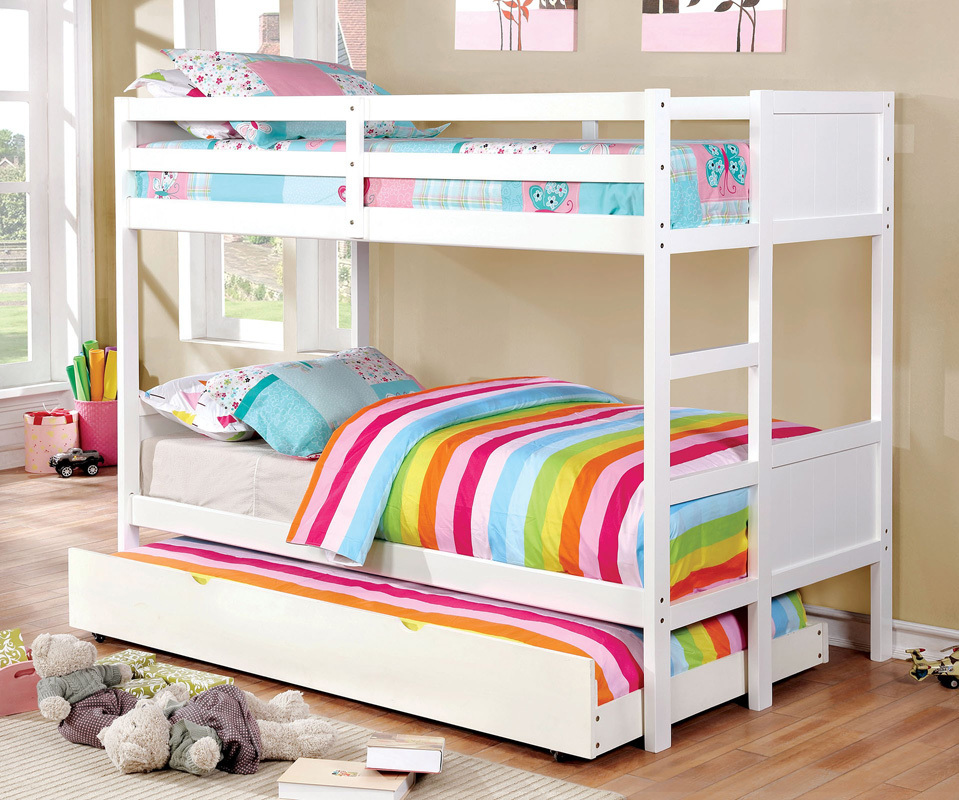 Image of: Perfect Single Bunk Bed
