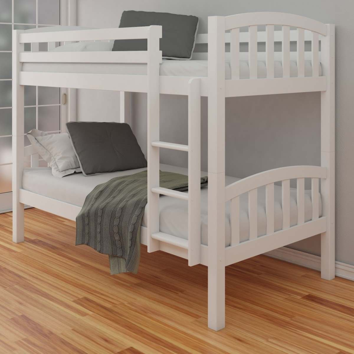 Image of: Perfect Wooden Loft Bed