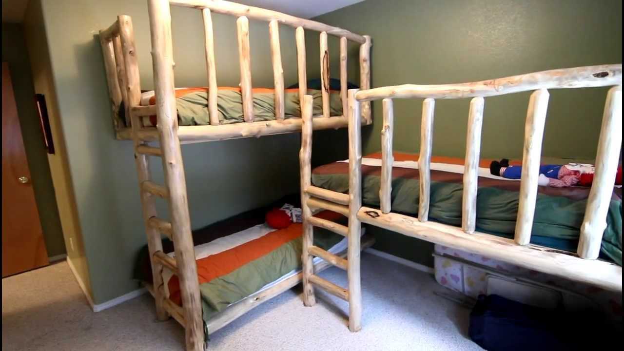 Image of: Picture Three Bed Bunk Beds