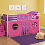 Pink Curtain Set For Loft Bed