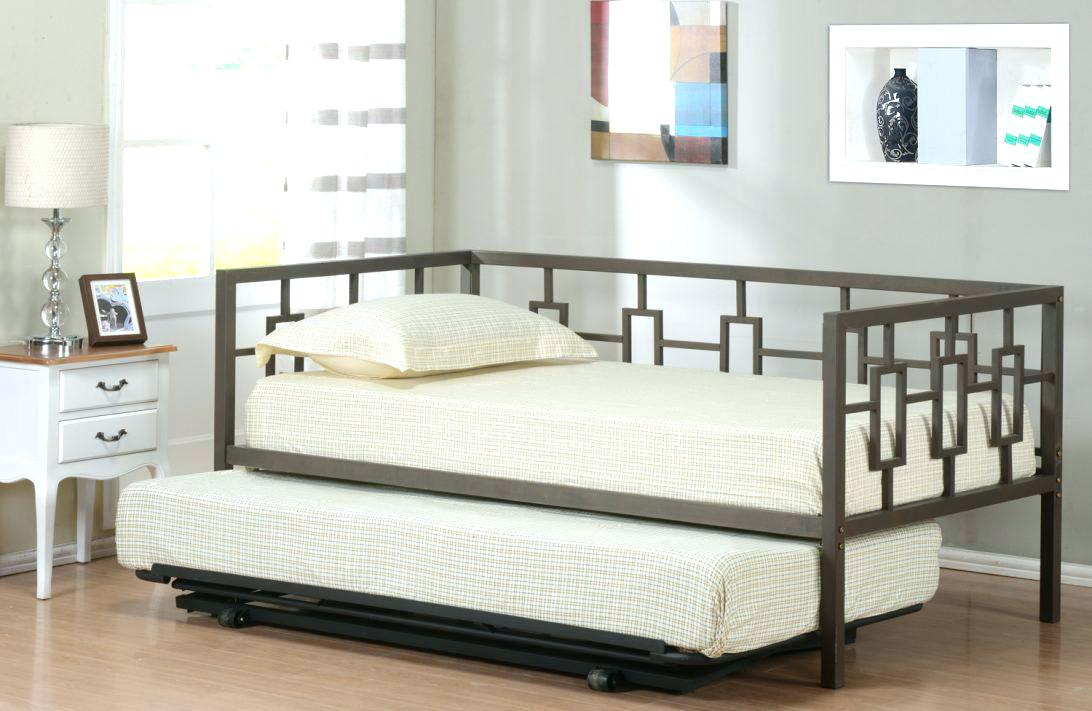 Image of: Pop Up Trundle Bed Frame Ideas