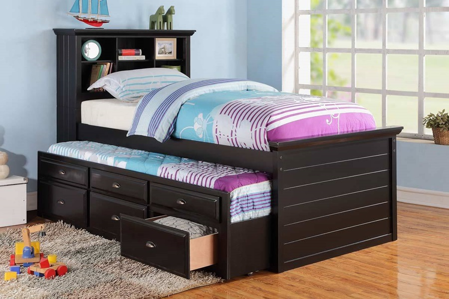 Image of: Pop Up Trundle Beds