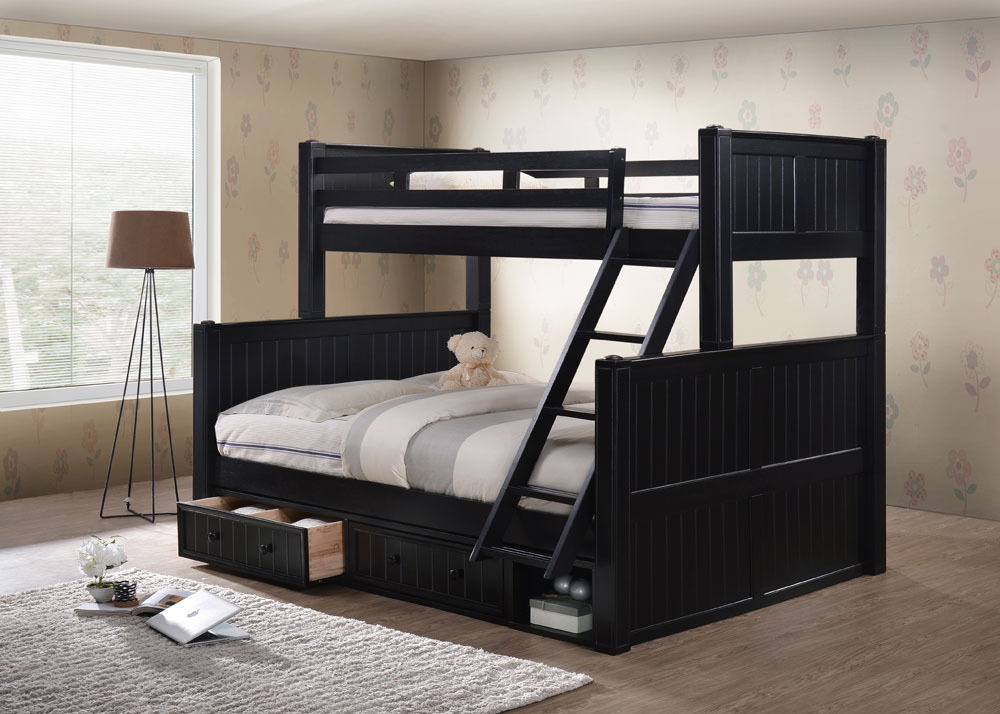 Image of: Popular Queen Bunk Beds for Adults