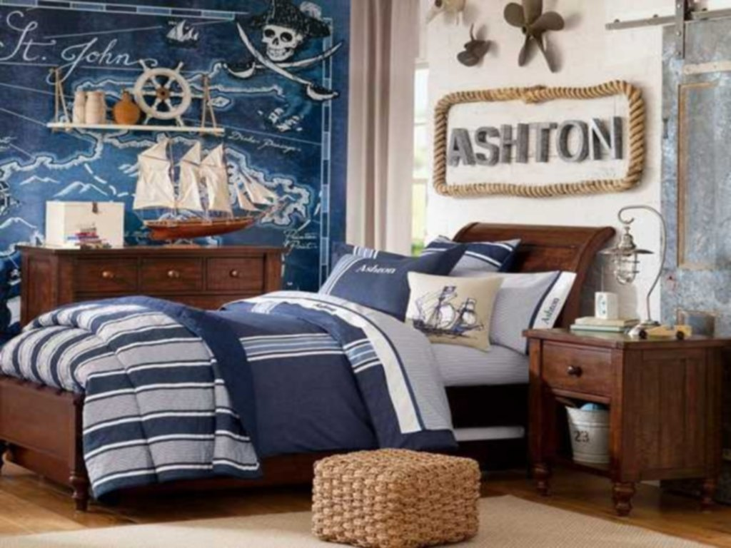 Image of: Pottery Boys Bedding