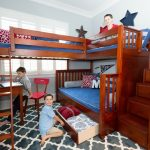 Quad Bunk Beds with Storage