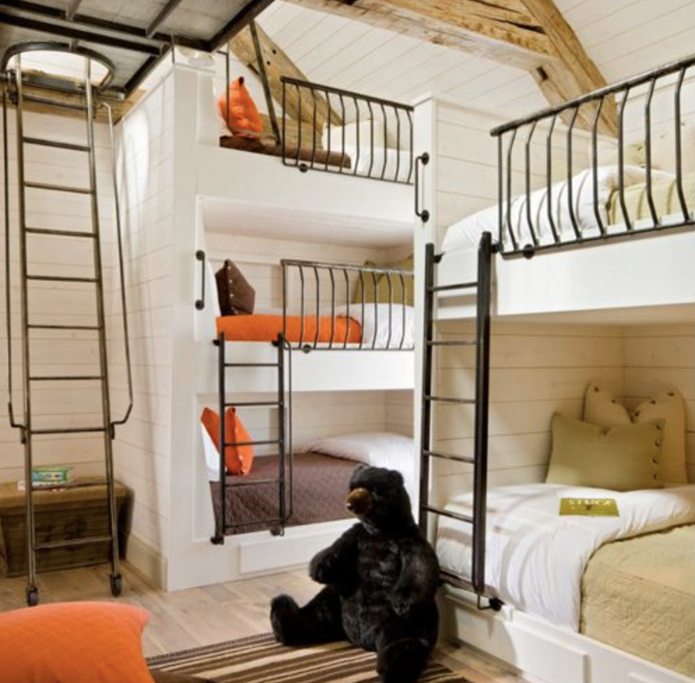 Image of: Quadruple Bunk Bed Small