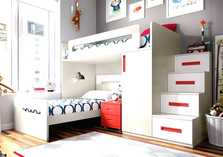 Image of: Quadruple Bunk Bed Stairs