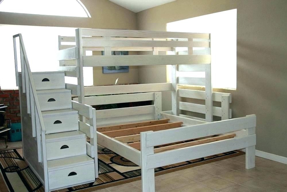 Queen Over Queen Bunk Bed Plans Free
