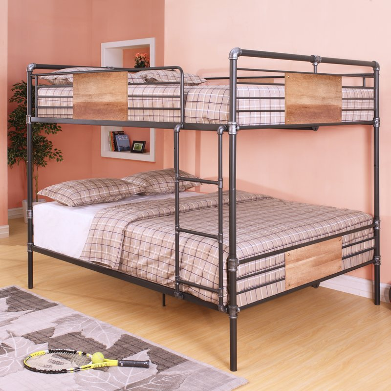 Image of: Queen Toddler Size Bunk Beds