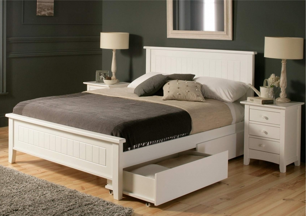 Image of: Queen Trundle Bed With Stairs