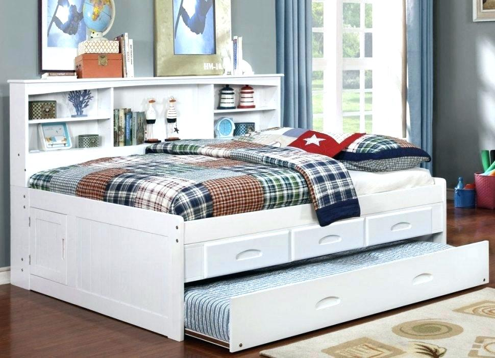 Queen Trundle Bed With Trundle