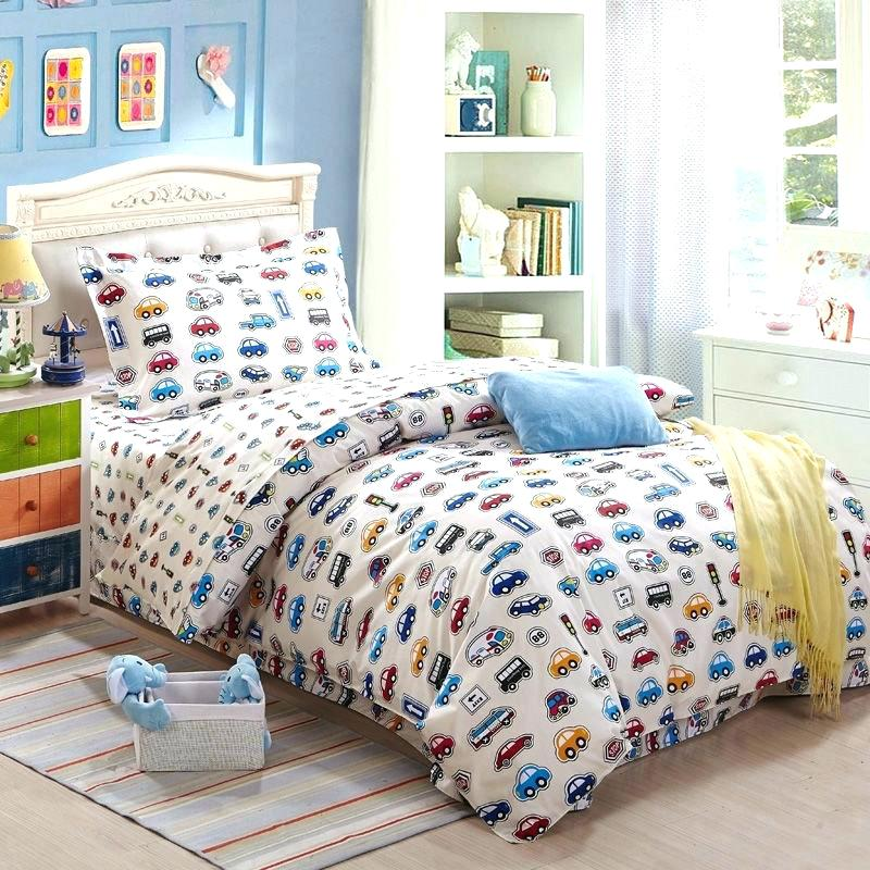 Image of: Race Cars Bedding Set