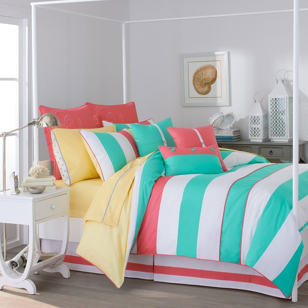 Image of: Rainbow Colorful Bed Sets