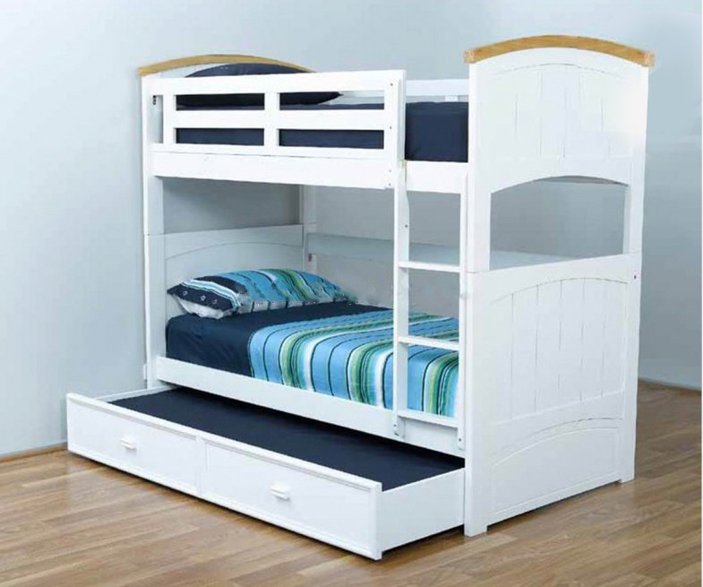 Image of: Ranch Bunk Beds with Trundle