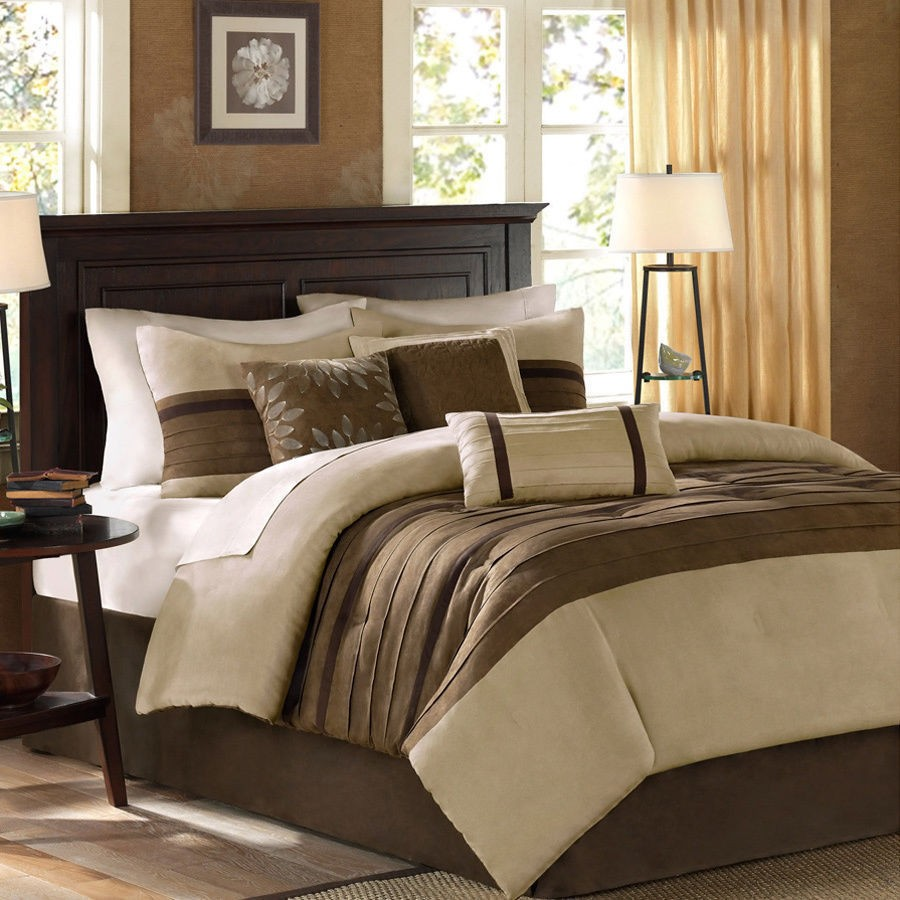 Image of: Review Brown Bed Sets