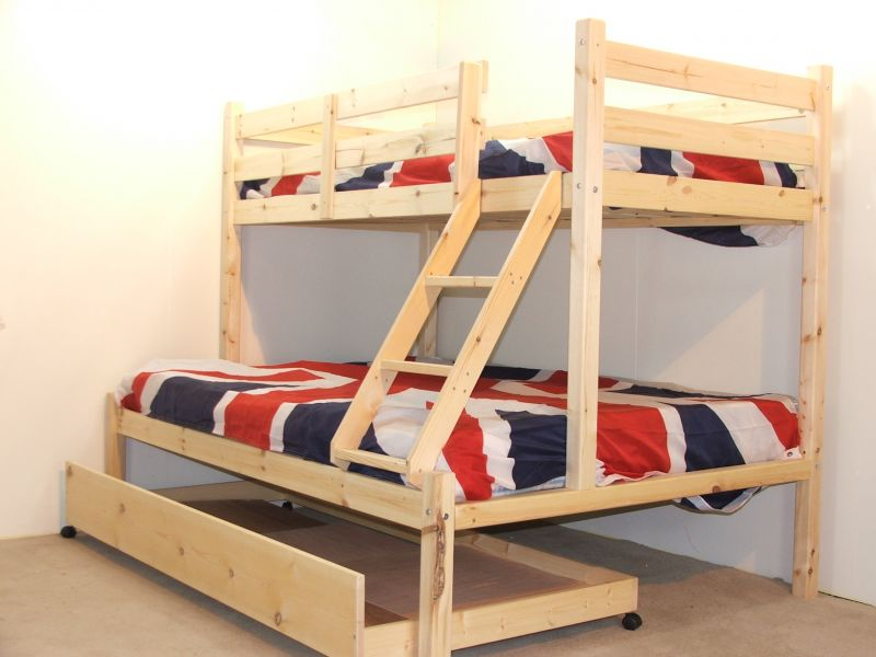 Image of: Review Three Bed Bunk Beds