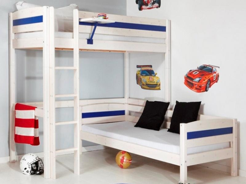 Image of: Rooms to Go Kids Bunk Beds with Stairs
