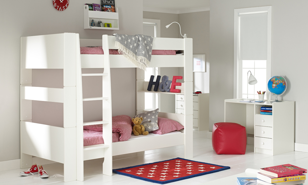 Image of: Rooms to Go Kids Bunk Beds with Trundle
