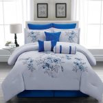 Royal Blue and White Bedding Sets