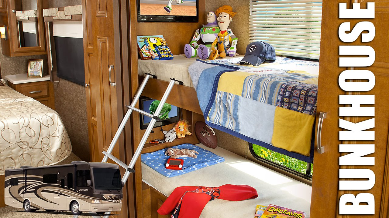 Image of: Rv With Bunk Beds Diesel