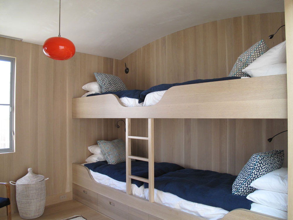 Image of: Rv With Bunk Beds with Stair