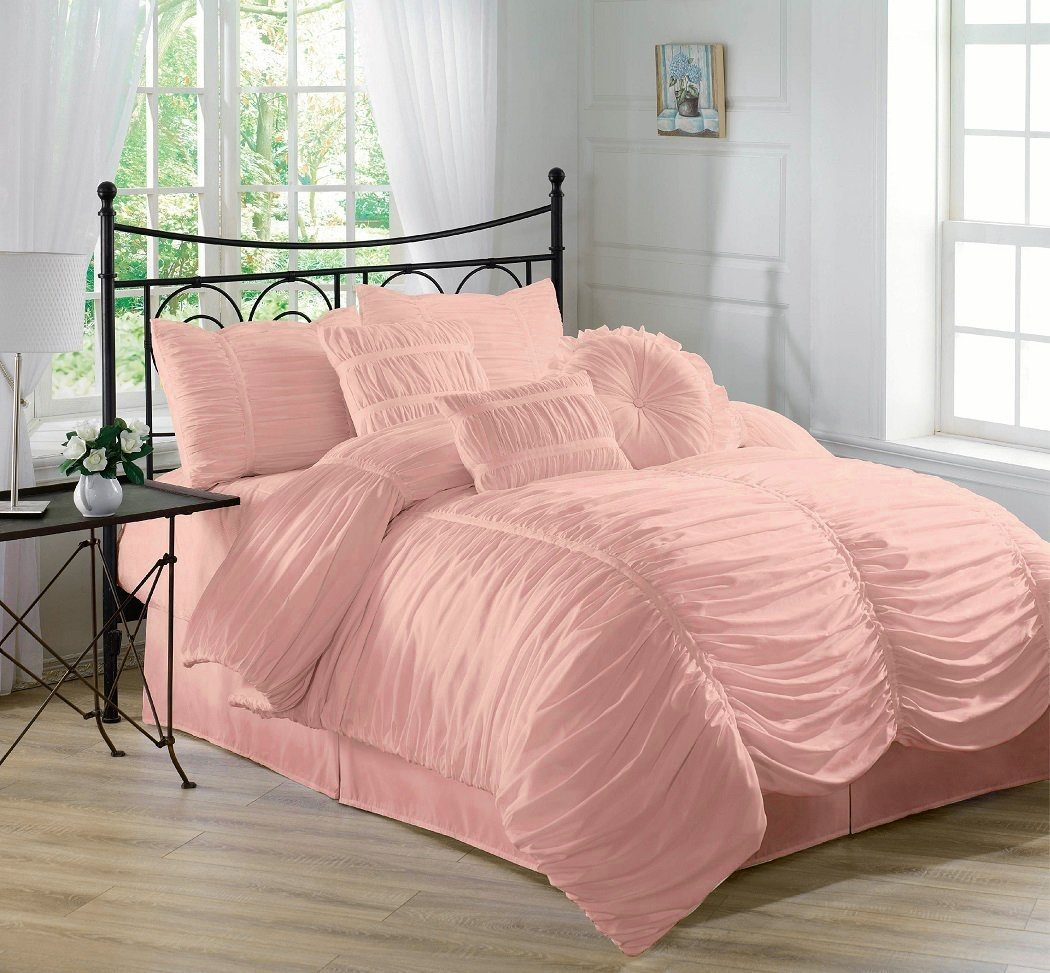 Image of: Scenic Blush Pink Bedding Sets