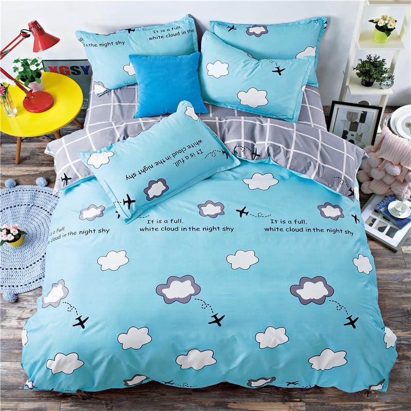 Image of: Simple Cloud Bedding Set