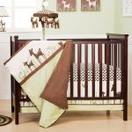 Simple Deer Baby Bedding Set