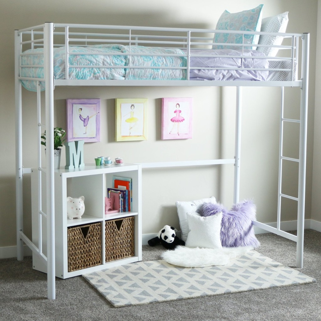 Image of: Simple Teen Loft Bed
