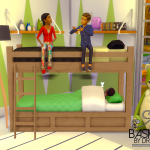 Sims 4 Bunk Beds Childs