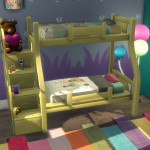 Sims 4 Bunk Beds Stairs