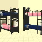Sims 4 Bunk Beds Twin