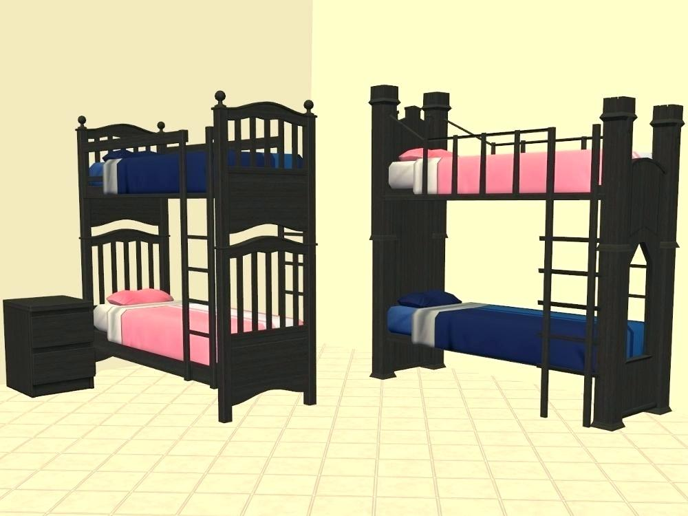 Image of: Sims 4 Bunk Beds Twin