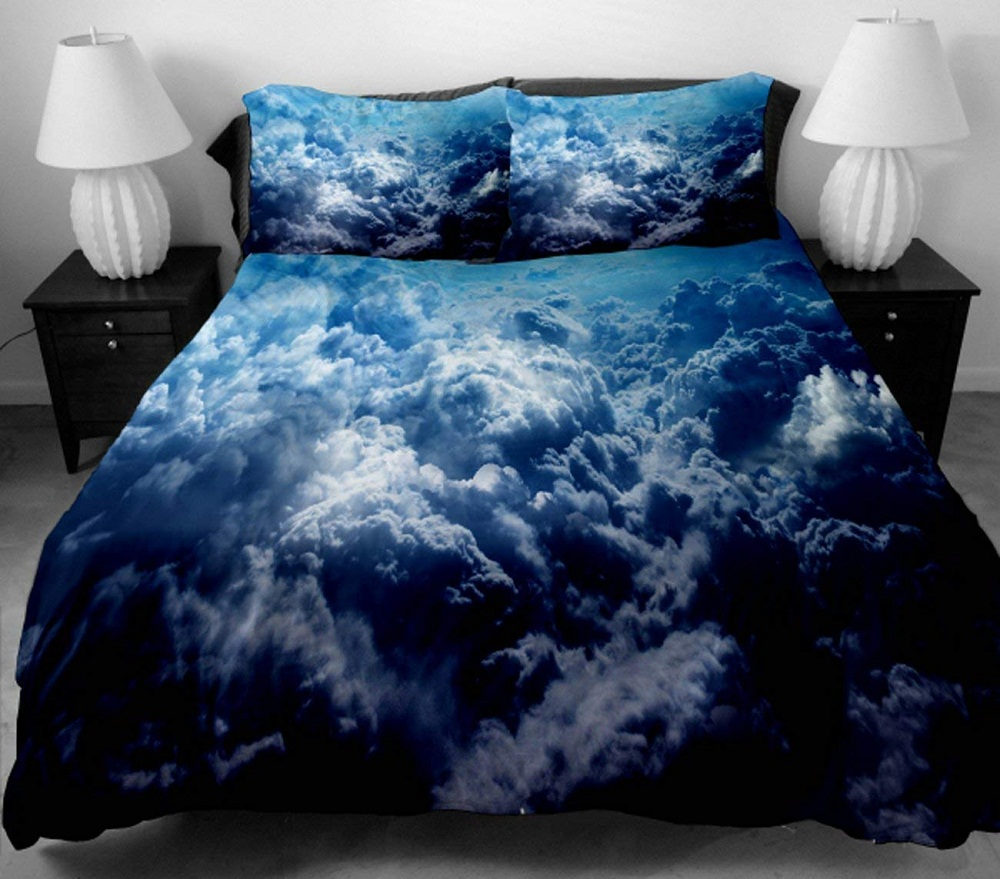 Image of: Sky Cloud Bedding Set