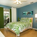 Small Blue And Green Bedding Sets