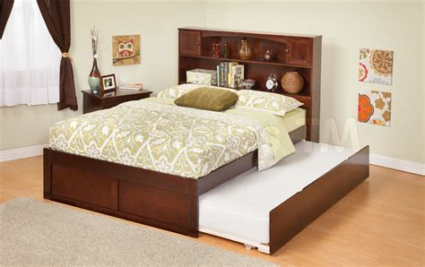 Image of: Small Full Trundle Bed