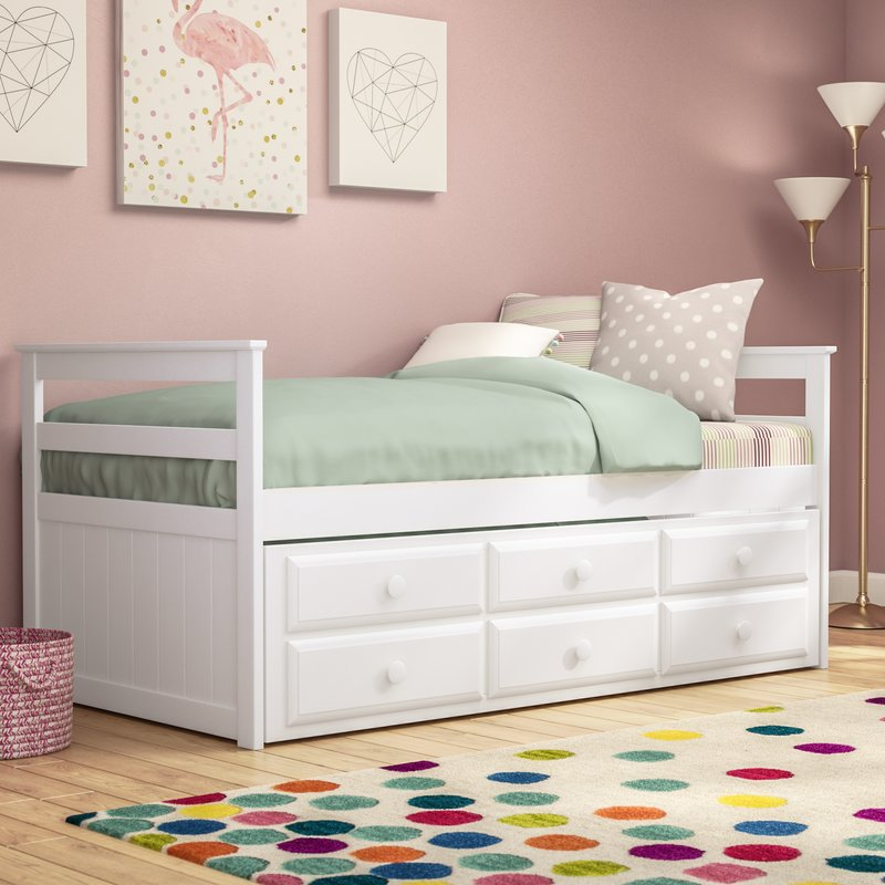 Image of: Small Twin Trundle Bed