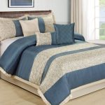 Southway Blue And Grey Bedding Sets