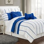 Strip Blue and White Bedding Sets
