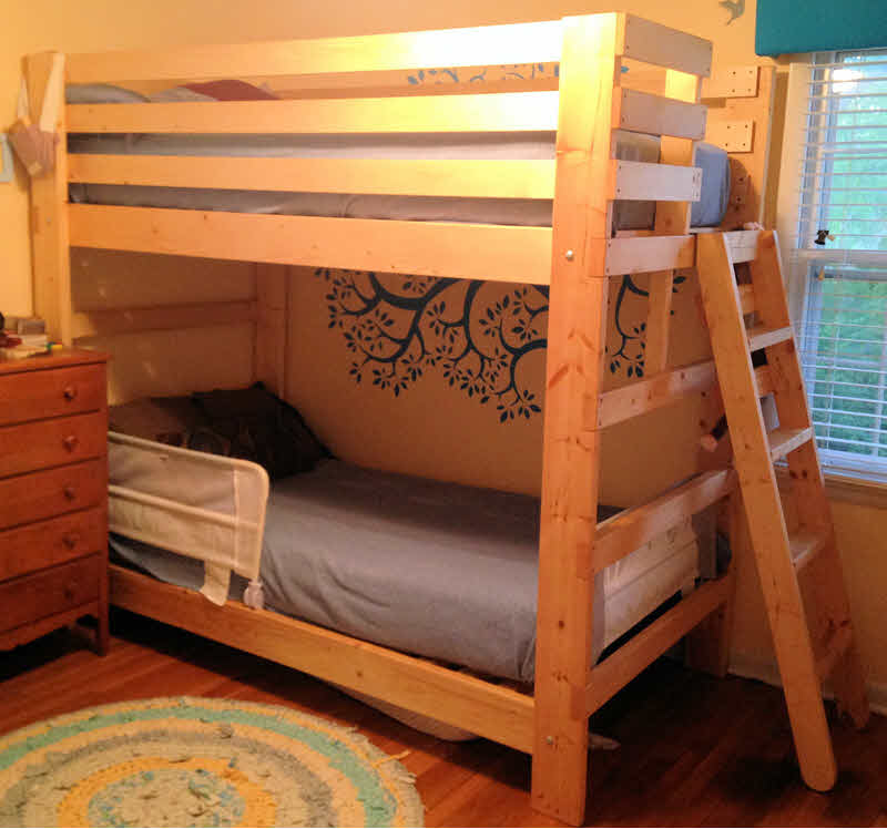 Image of: Sturdy Bunk Beds Design