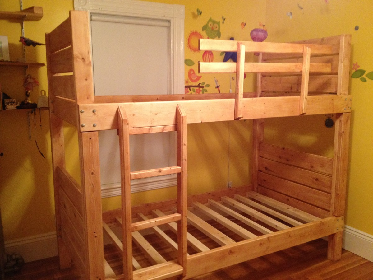 Image of: Sturdy Bunk Beds Plans