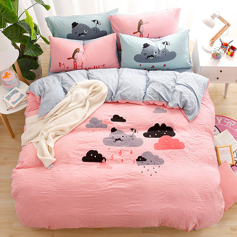 Image of: Style Cloud Bedding Set