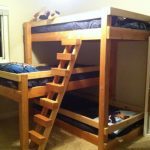 Three Bed Bunk Beds with Stair