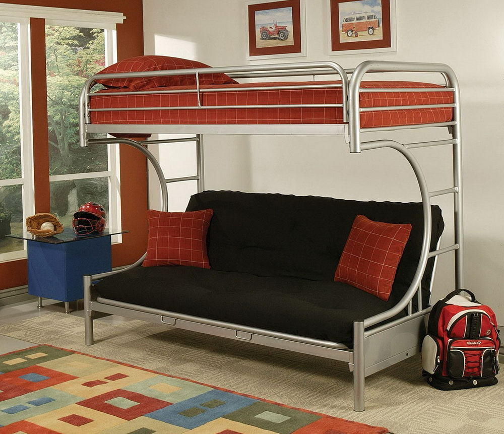 Image of: Toddler Bunk Beds Ikea Futon
