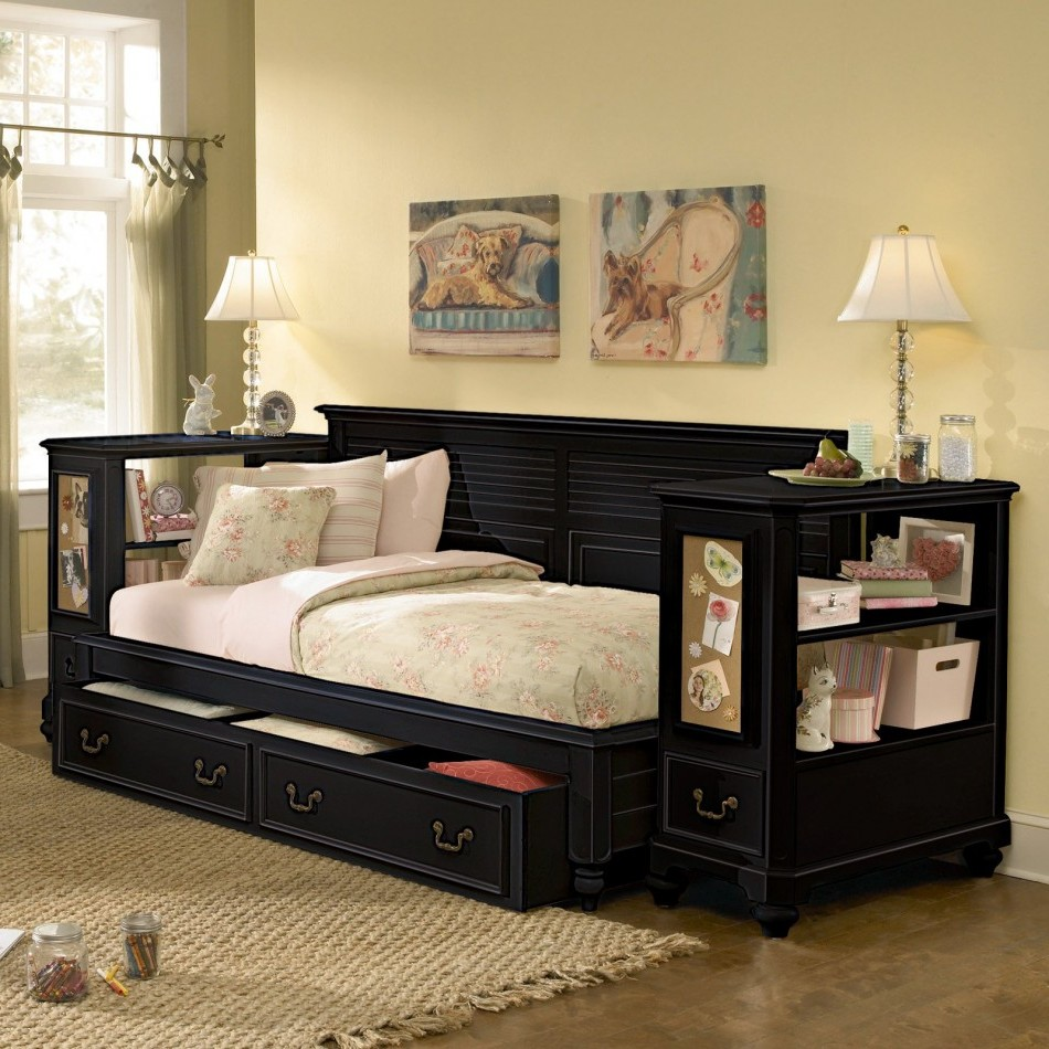 Top Full Size Trundle Bed