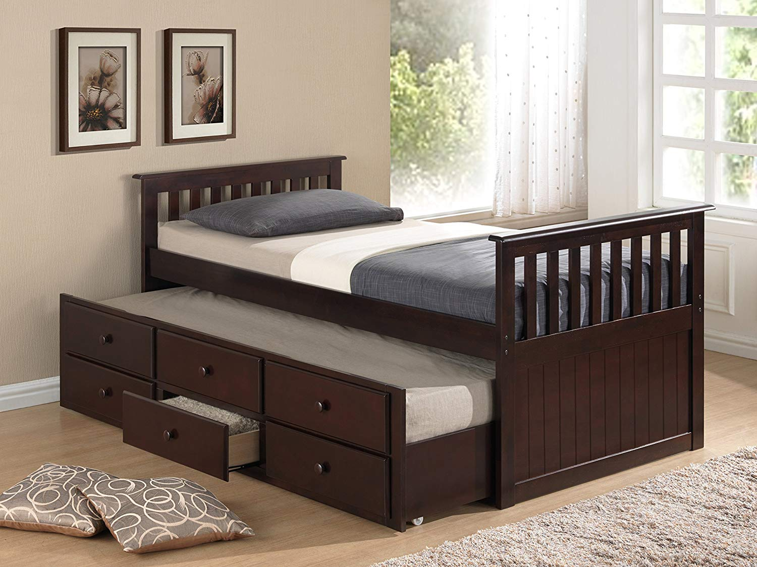 Image of: Top Twin Bed with Trundle
