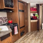 Travel Trailers with Bunk Beds Kitchen