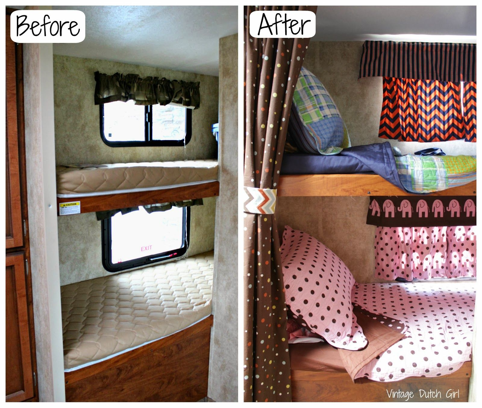 Image of: Travel Trailers with Bunk Beds Photos