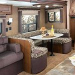 Travel Trailers with Bunk Beds Sofa